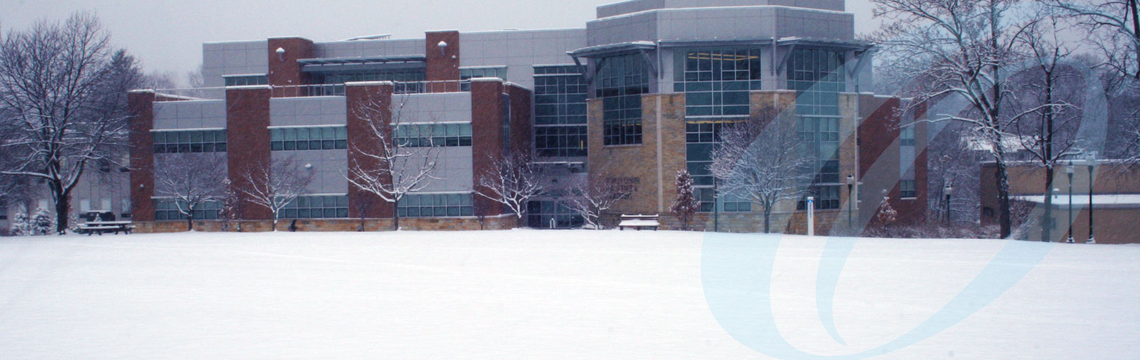 Morrison Hall in winter