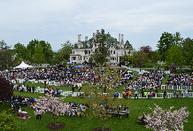 Commencement on the Alumni Green