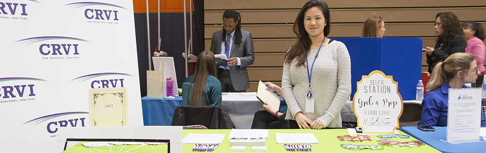 Job Fair Candid
