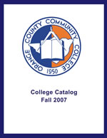 College Catalog cover Fall 2007