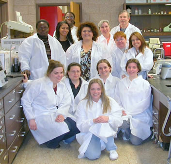 Photo: MLT students, 2006