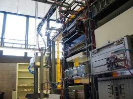 Photo: Telecommunications equipment racks