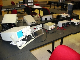 Photo: Electronics Lab Equipment