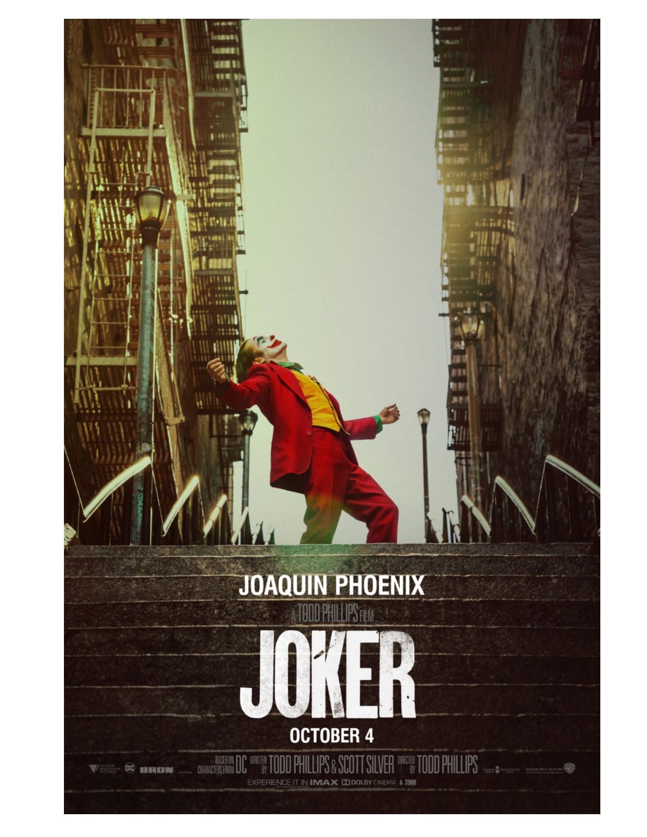 Movie Madness, Featuring: Joker