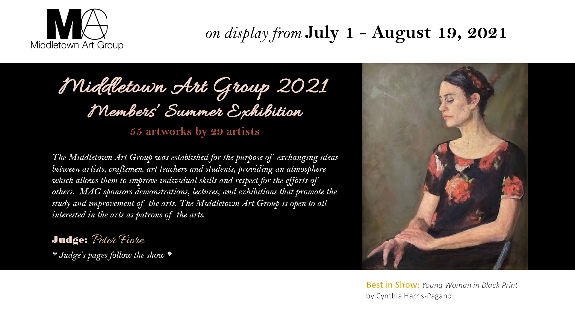 Middletown Art Group 2021 Members Summer Exhibition