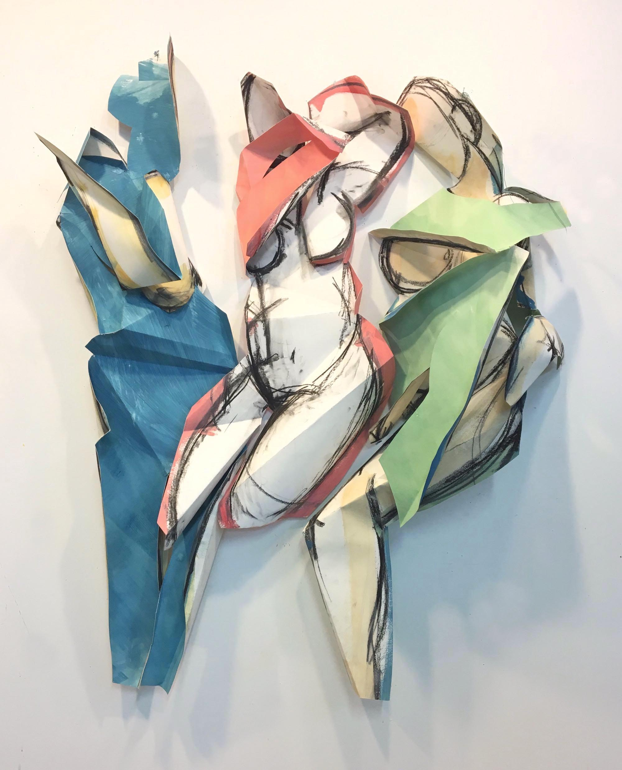Exhibit: Figurative Landscape ~ paintings, drawings, sculptures by Heidi Lanino