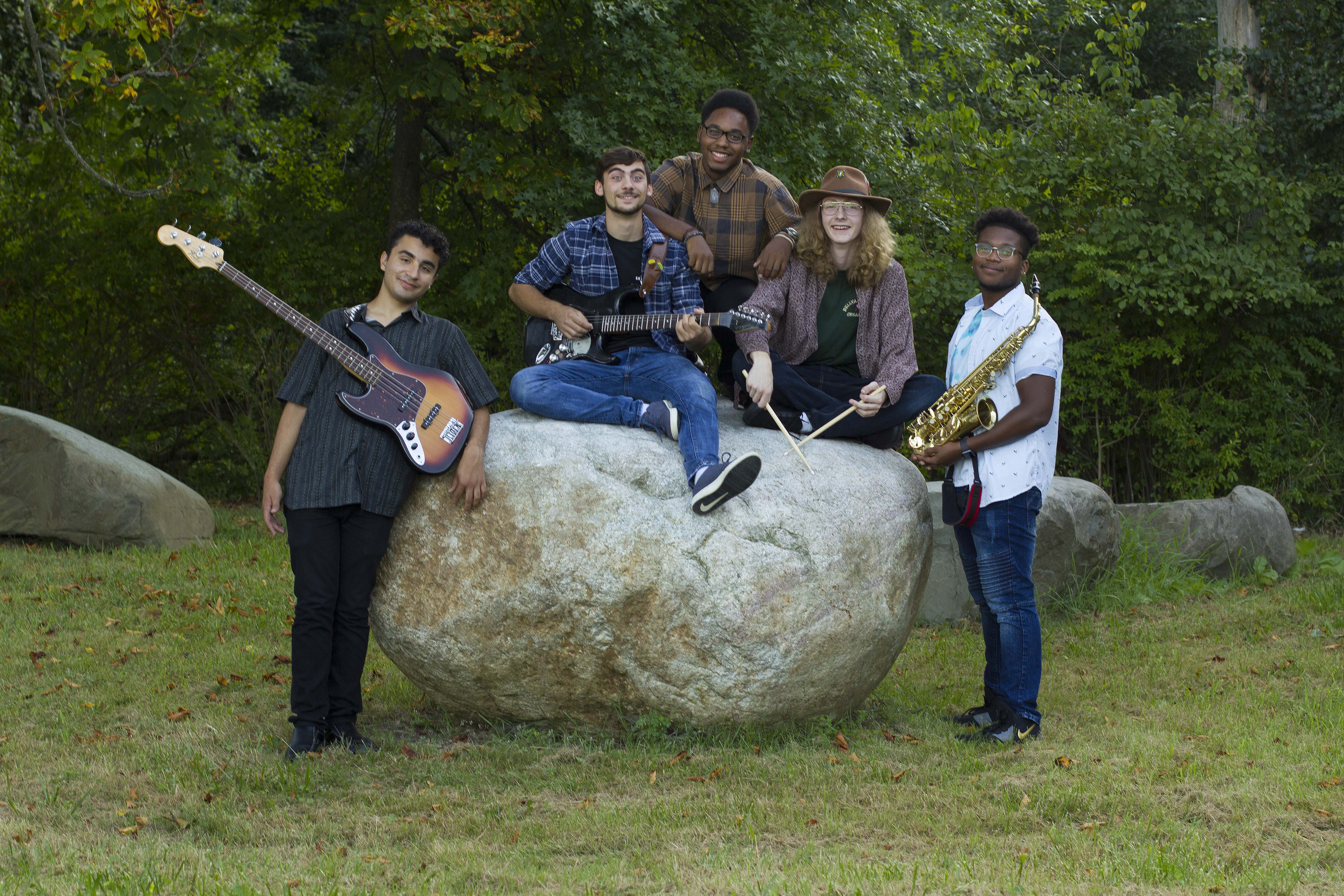 SUNY Orange Jazz Quintet featured at exhibit reception for Music ~ a Visual Perspective