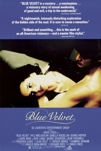 Blue Velvet to be screened