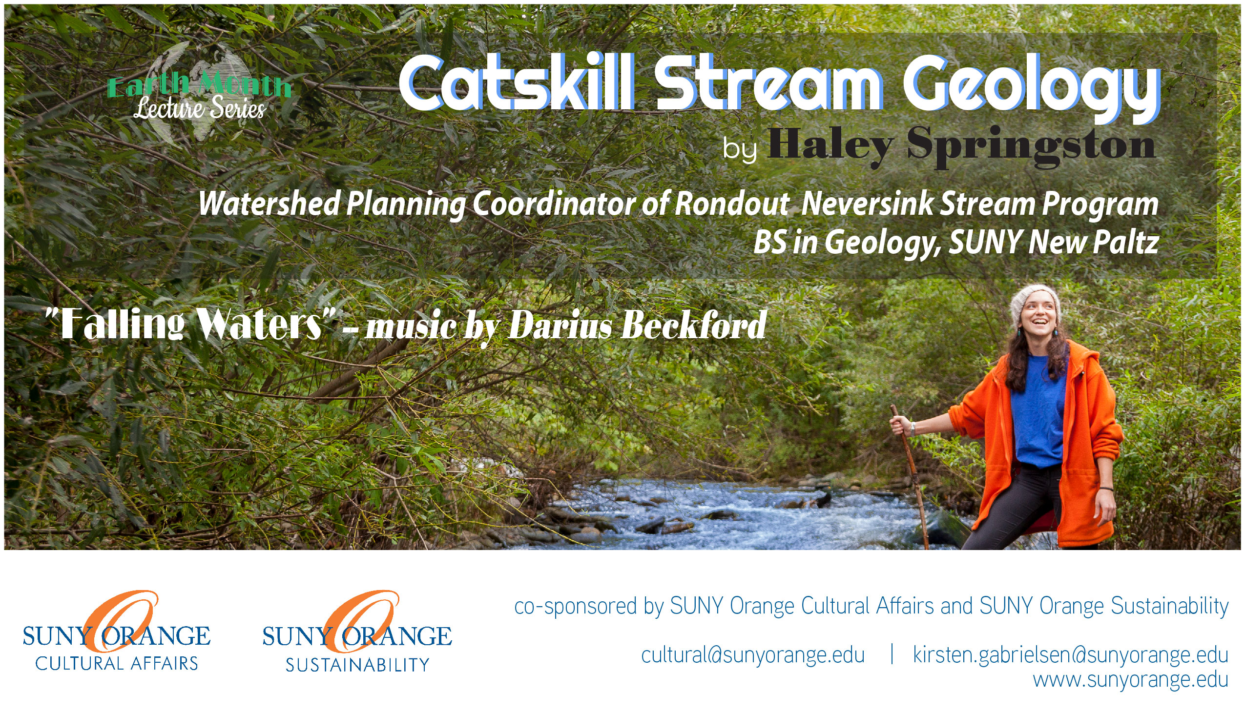 Catskill Stream Geology ~ lecture by Haley Springston