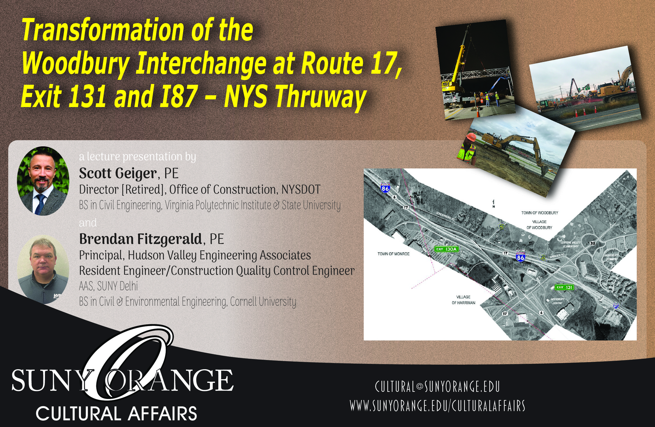 Transformation of the Woodbury Interchange at Route 17, Exit 131 and I87 - NYS Thruway