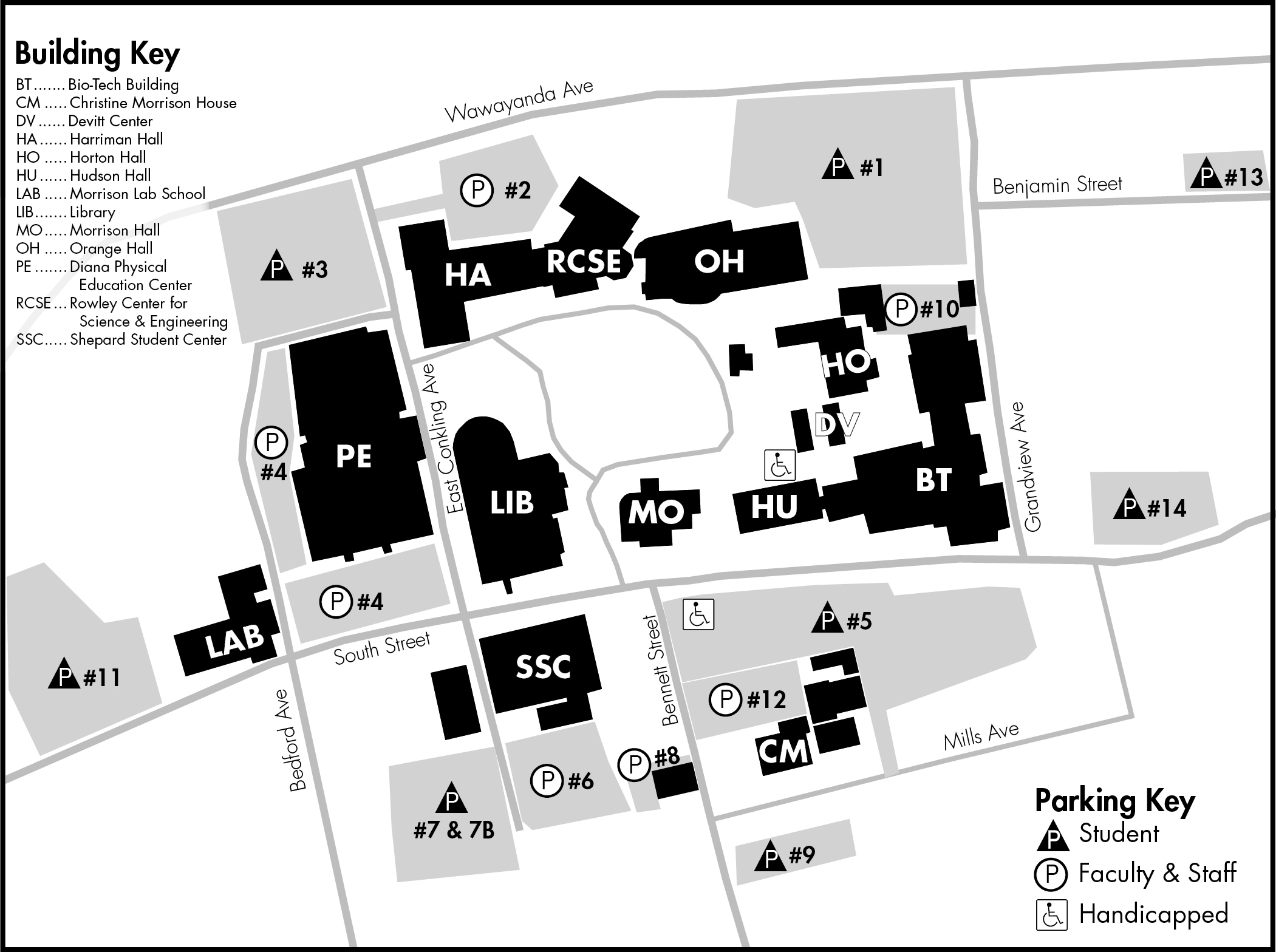 Occc Middletown Campus Map.Suny Orange Maps Amp Directions Middletown Campus Induced Info
