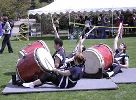 Japanese Drummers Pic