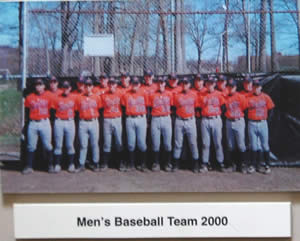 mens baseball team 2000