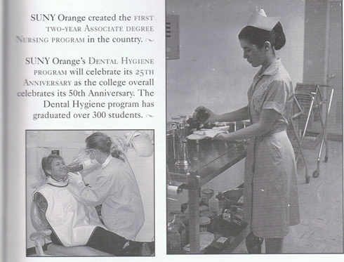 Photo: Nursing Student and Dental Hygiene Clinic