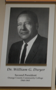 Dr. William G. Dwyer, Second President of OCCC, 1960-1965