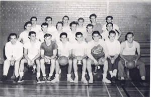 first basketball team