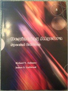 SUNY Orange: Mathematics - Textbooks