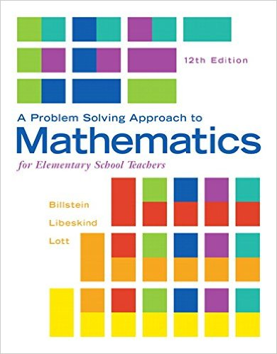 A Problem Solving Approach to Mathematics for Elementarty School Teachers