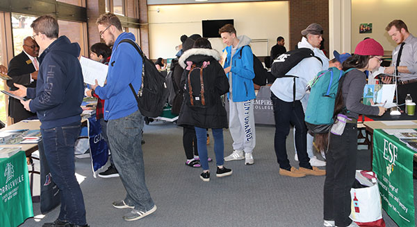 Students attend Transfer Fair 2019
