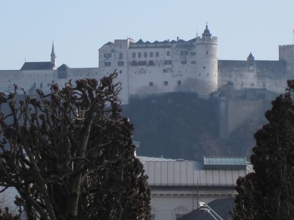 Castle Salzburg Austria 2013