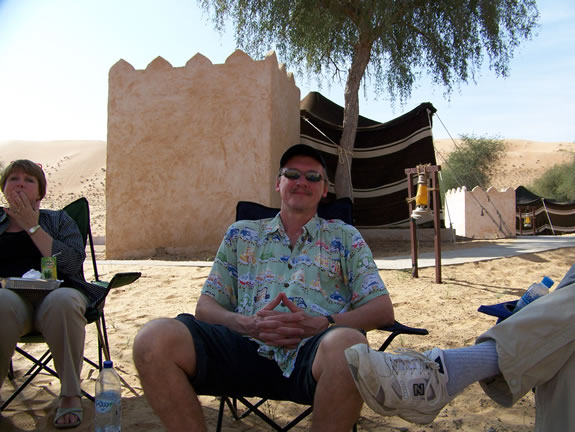 Paul in the desert