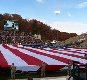 Army game at West Point