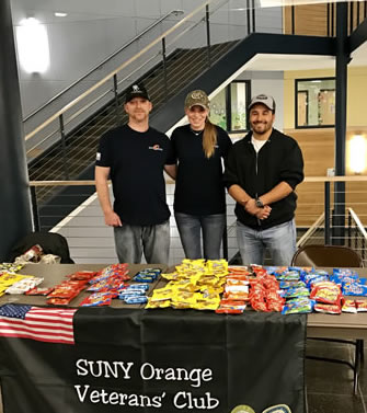 Veteran Club Food giveaway photo March 2017